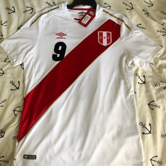 59c0d4b55a4 Umbro Shirts | Peru Home Guerrero Jersey M World Cup Russia 2018 ...